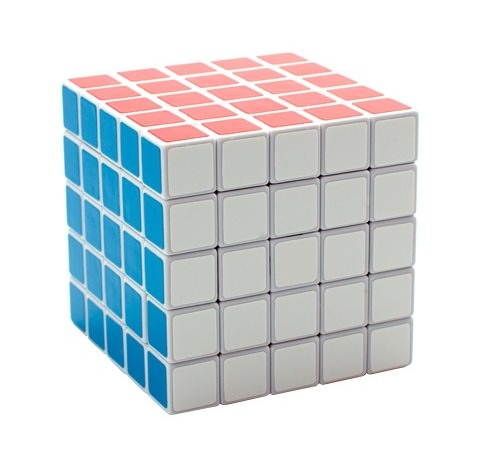 Кубик Рубика 5х5 GuoJia Белый