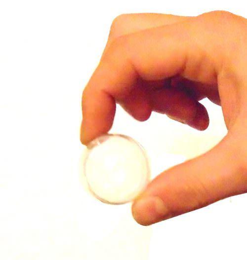 Фокус с мыльным пузырем