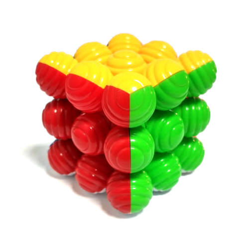 Кубик Рубика 3x3 He Shu Спиральный