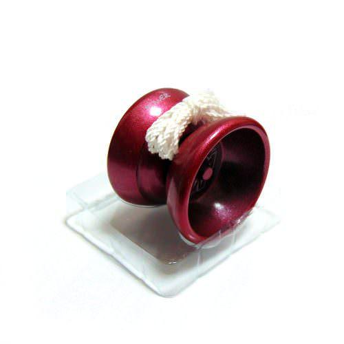 Йо-йо бордовое алюминиевое