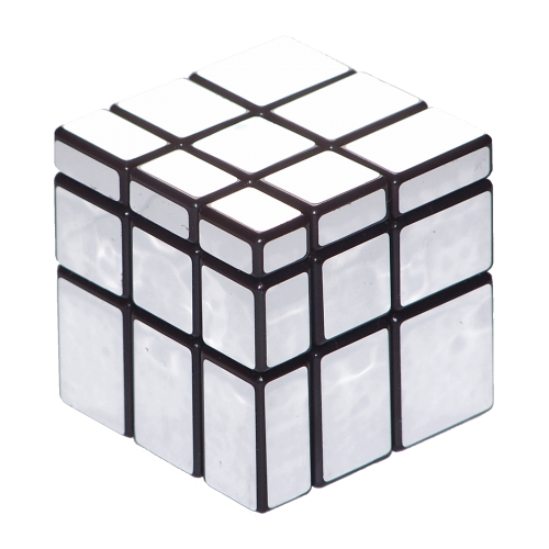 Кубик Рубика 3x3 Guojia Зеркальный Серебро