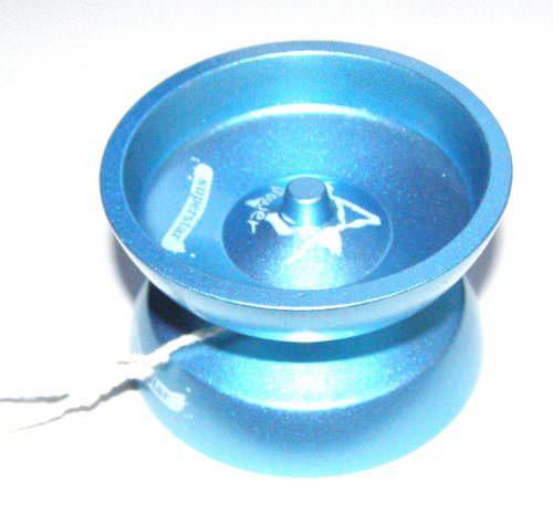 Йо-йо голубое алюминиевое