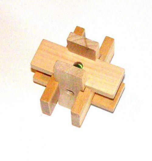 Головоломка деревянная Погремушка