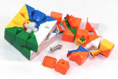 Кубик Рубика 3x3 QiYi/Mofange 42 мм цветной