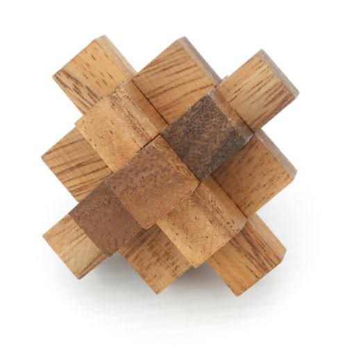 Головоломка деревянная Крест