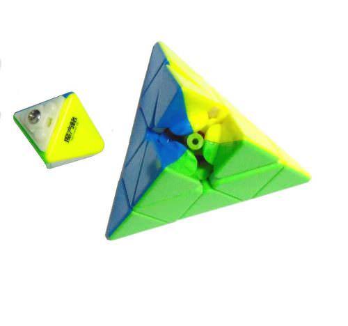 Пирамидка QiYi Qiming Piraminx Цветная