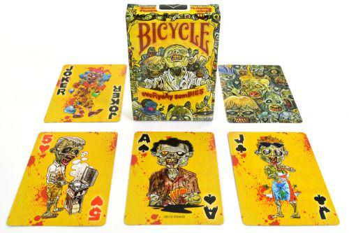 Покерные карты Bicycle Everyday Zombies