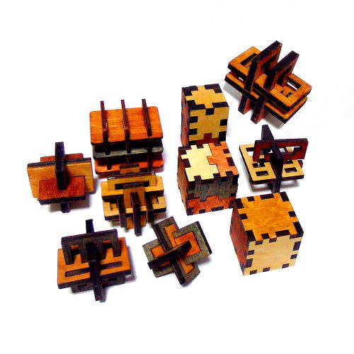 Десять 3D головоломок