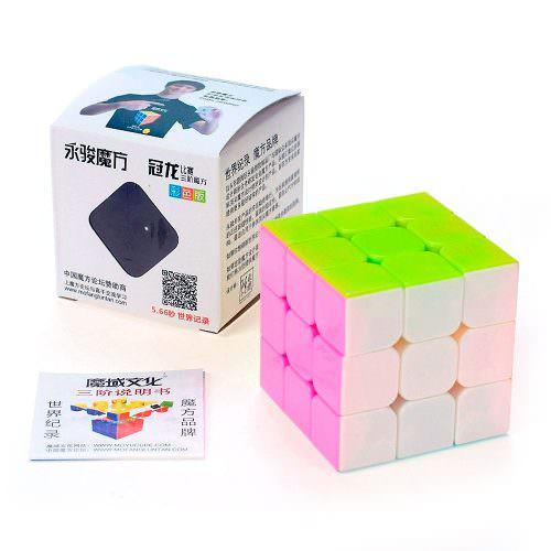 Кубик Рубика 3x3 MoYu GuanLong Цветной