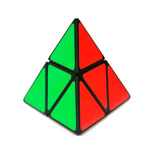 Shengshou 2 Layer Pyraminx Magic Cube Black