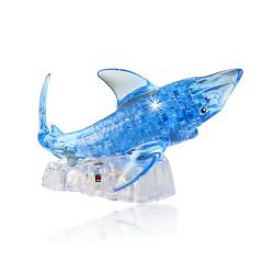 3D Crystall Puzzle Shark
