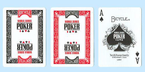 Покерные карты Bicycle WSOP