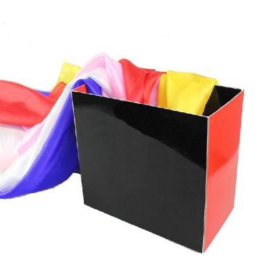 Платки из ящика | Silk Fountain box