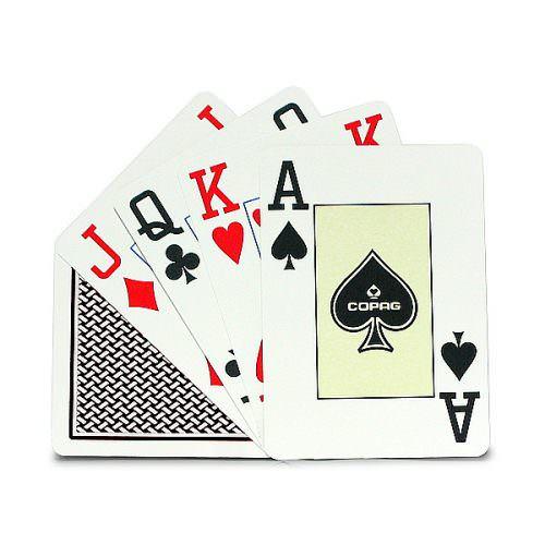 Покерные карты Copag Texas Hold 'Em Poker Jumbo Index