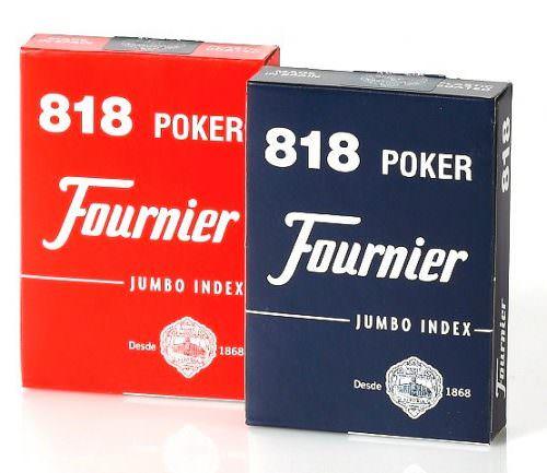 Покерные карты Fournier 818 Jumbo Index