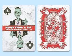Покерные карты Bicycle Zombie