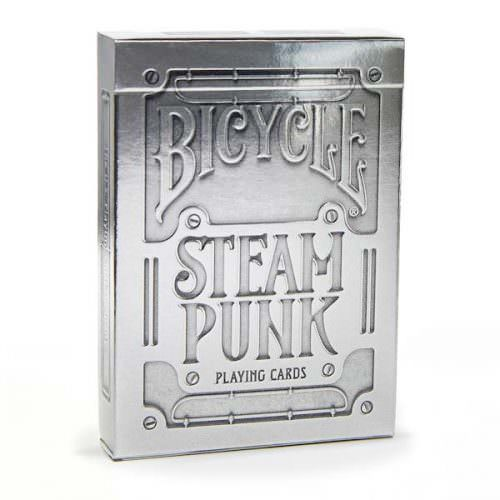 Bicycle Steampunk Silver
