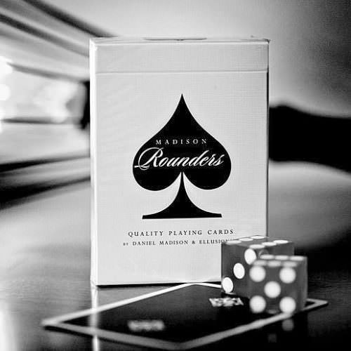 Покерные карты Madison Rounders Black