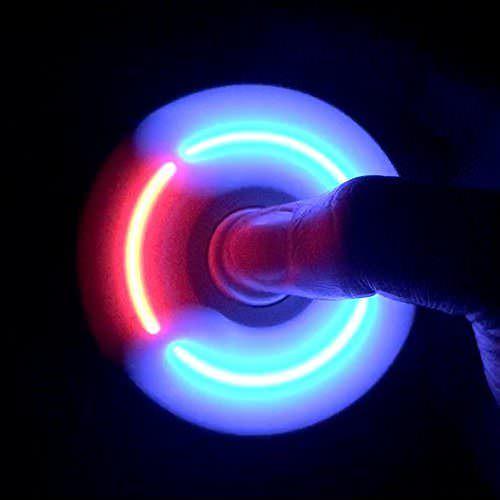 Спиннер с LED подсветкой