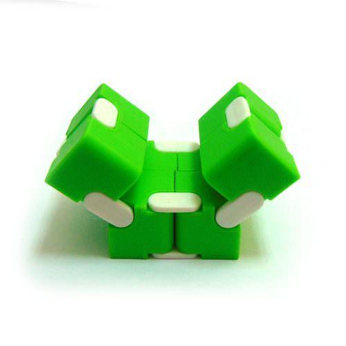 Кубик-антистресс Infinity Cube Зелёный