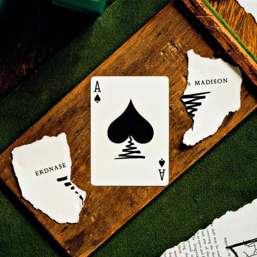 Покерные карты Ellusionist ExM Black Deck