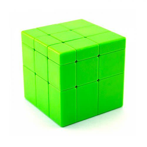 Кубик Рубика 3x3 QiYi Зеркальный Зелёный