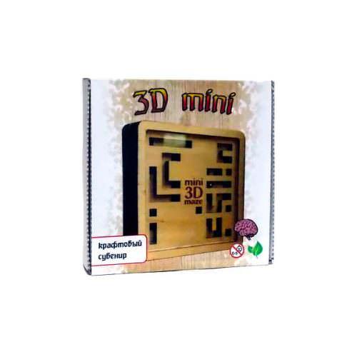Головоломка крафт-лабиринт 3D мини