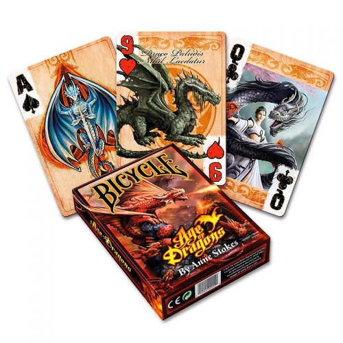 Покерные карты Bicycle Age of Dragons (Anne Stokes)