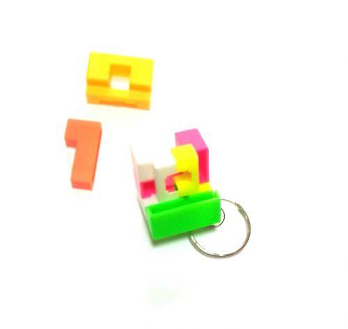 Брелок-головоломка кубик