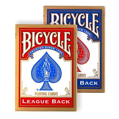 Покерные карты Bicycle League Back