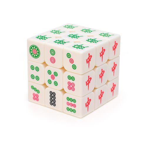 Кубик Рубика 3х3 Z-Cube MahJong (Маджонг)