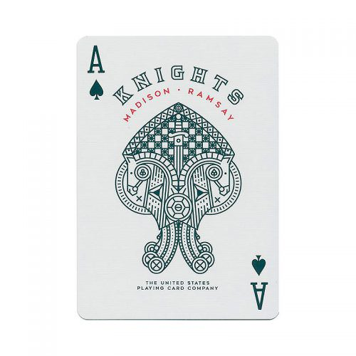 Покерные карты Red Knights (Ellusionist)