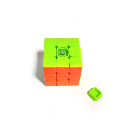 Брелок кубик Рубика 3х3 Цветной