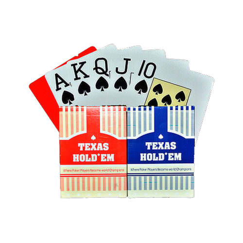 Покерные карты Texas Hold'em (100% пластик)