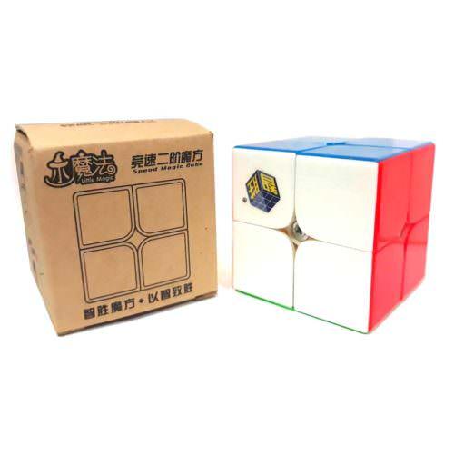 Кубик Рубика 2х2 Yuxin Little Magic (цветной)