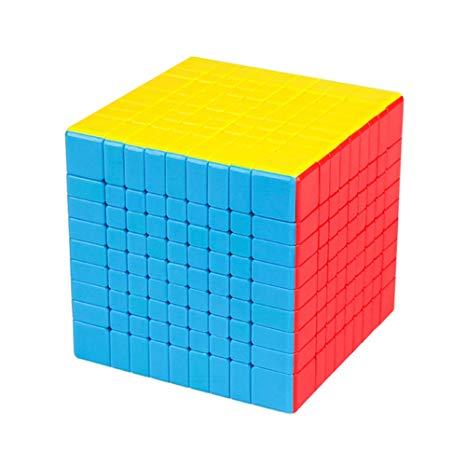 Кубик Рубика 9х9 MoYu MoFangJiaoShi MF9 Цветной