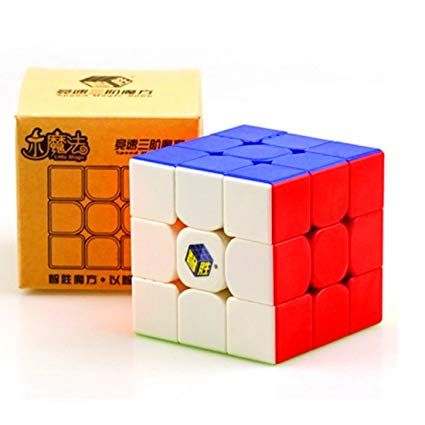 Кубик Рубика 3х3 Yuxin Little Magic (цветной)