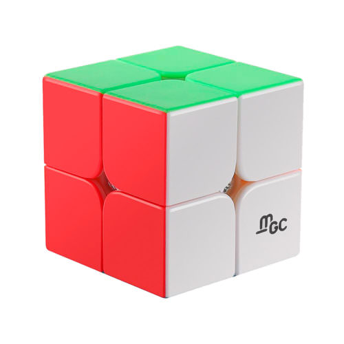Кубик Рубика 2x2 MoYu MGC Магнитный Цветной