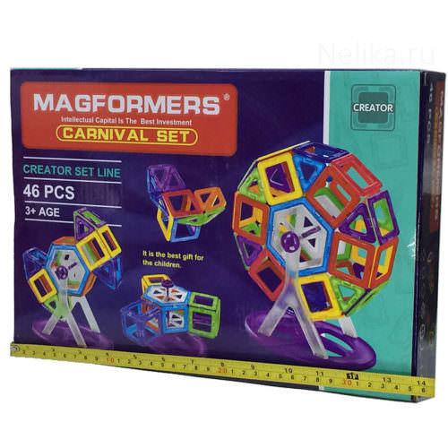 Магнитный конструктор Magformers Карусель (46 деталей)
