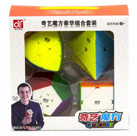 Набор головоломок 4 в 1 QiYi MoFangGe Колор