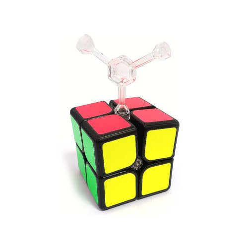 Кубик Рубика 2x2 GAN 249 V2 Magnetic Чёрный