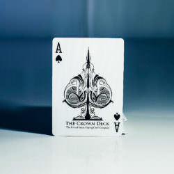 Покерные карты Crown Deck Limited Edition (Snow)