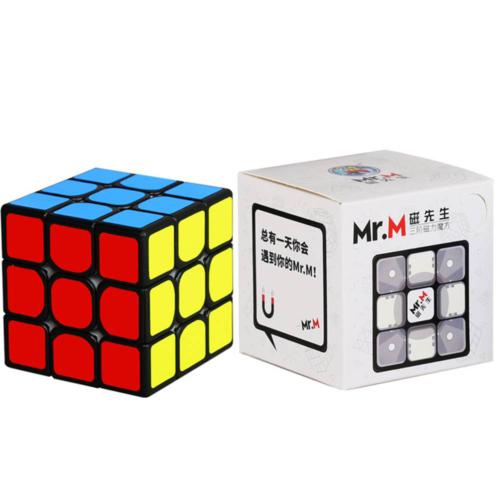 Кубик Рубика 3x3 ShengShou Mr. M Магнитный Черный