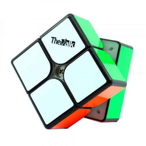 Кубик Рубика 2x2 QiYi Valk 2M Магнитный Черный