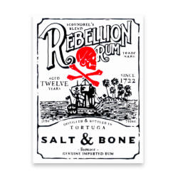 Покерные карты Rebellion Rum Salt and Bone