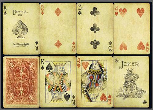 Покерные карты Bicycle Vintage Classic