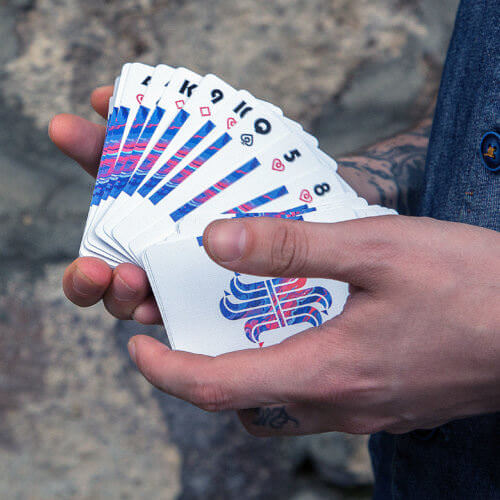 Покерные карты Fluid