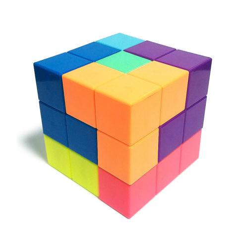 Кубики Сома YJ Magnetic Puzzle Магнитные