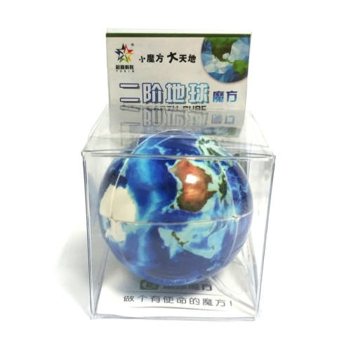 Кубик Рубика 2x2 YuXin Earth (Планета)