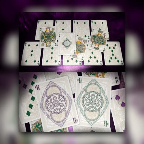 Покерные карты Bicycle Black Magic